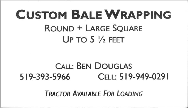 Custom Bale Wrapping